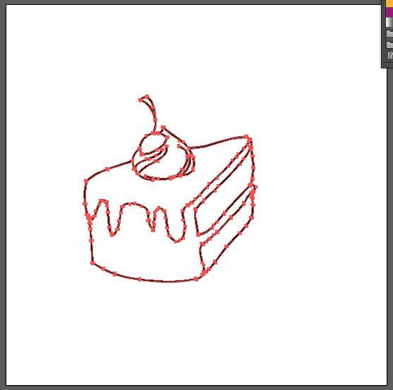 Tutorial Menggambar Kue Cokelat Menggunakan Adobe Illustrator Cs6
